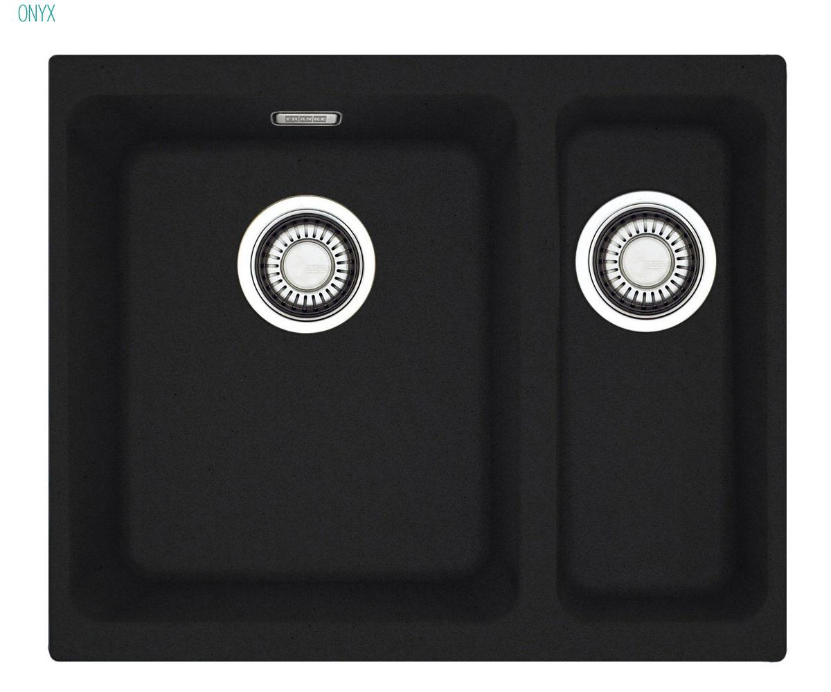 Additional Image Of Franke Kubus KBG 160 Designer Pack   Fragranite Polar  White Sink And Tap
