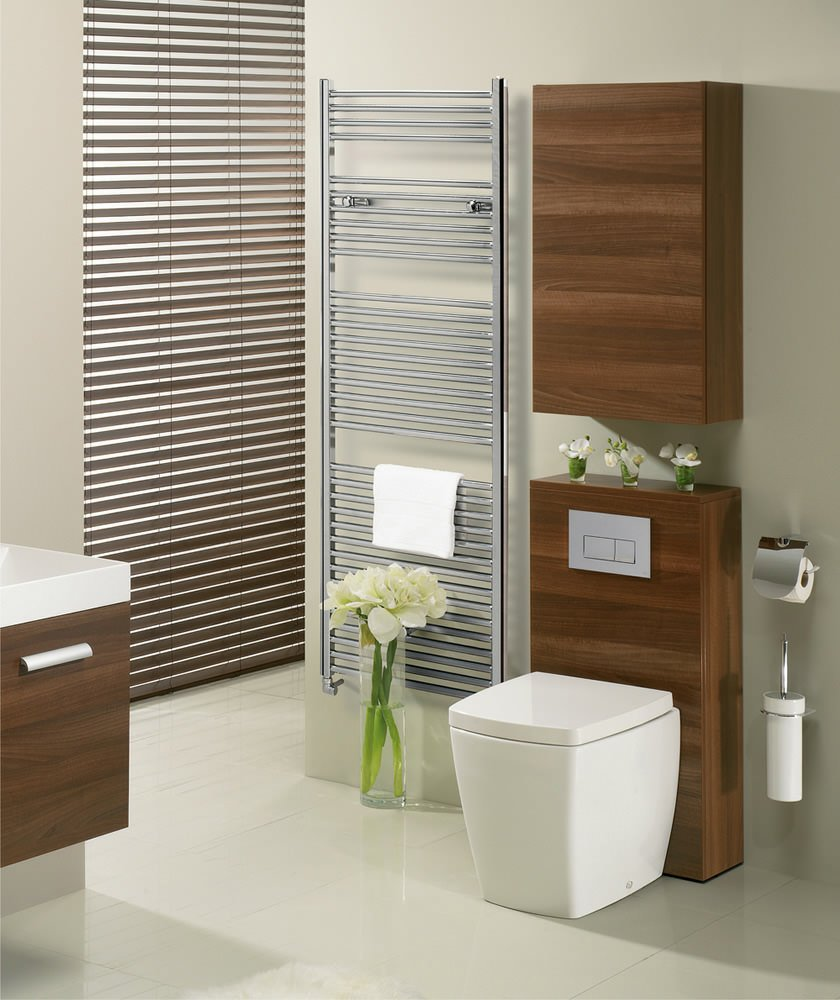 Bauhaus Kitchen Design: Bauhaus Design 600 X 1430mm Flat Panel Towel Rail
