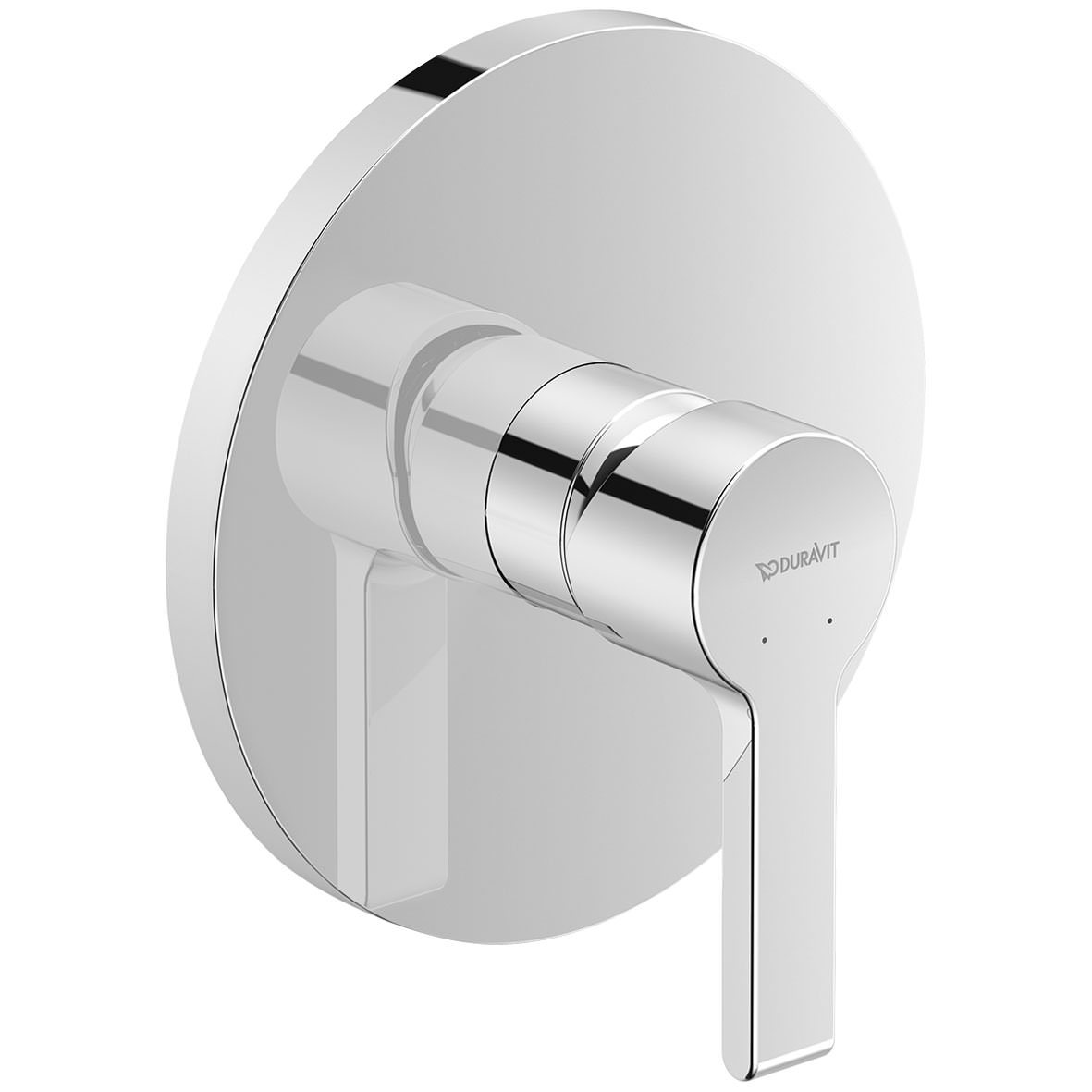 Duravit B.2 Round Concealed Manual Shower Mixer Valve