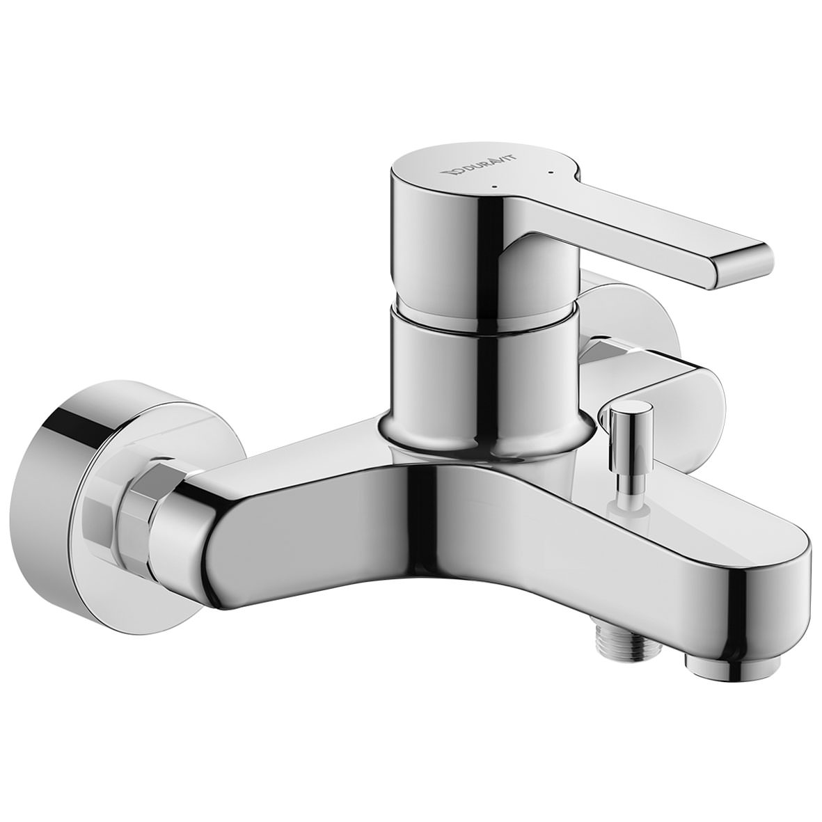 B.2 Single Lever Exposed Wall Mounted Manual Bath-Shower Mixer Tap