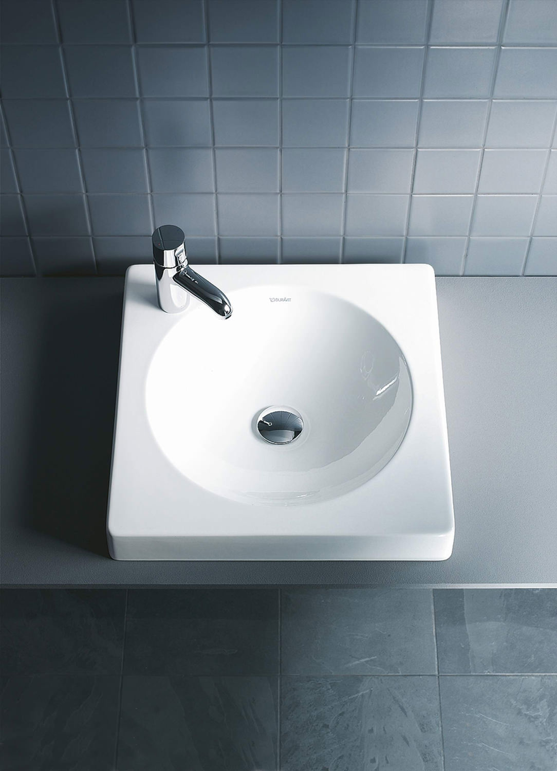Duravit Architec 500mm Above Counter Ground Basin Without