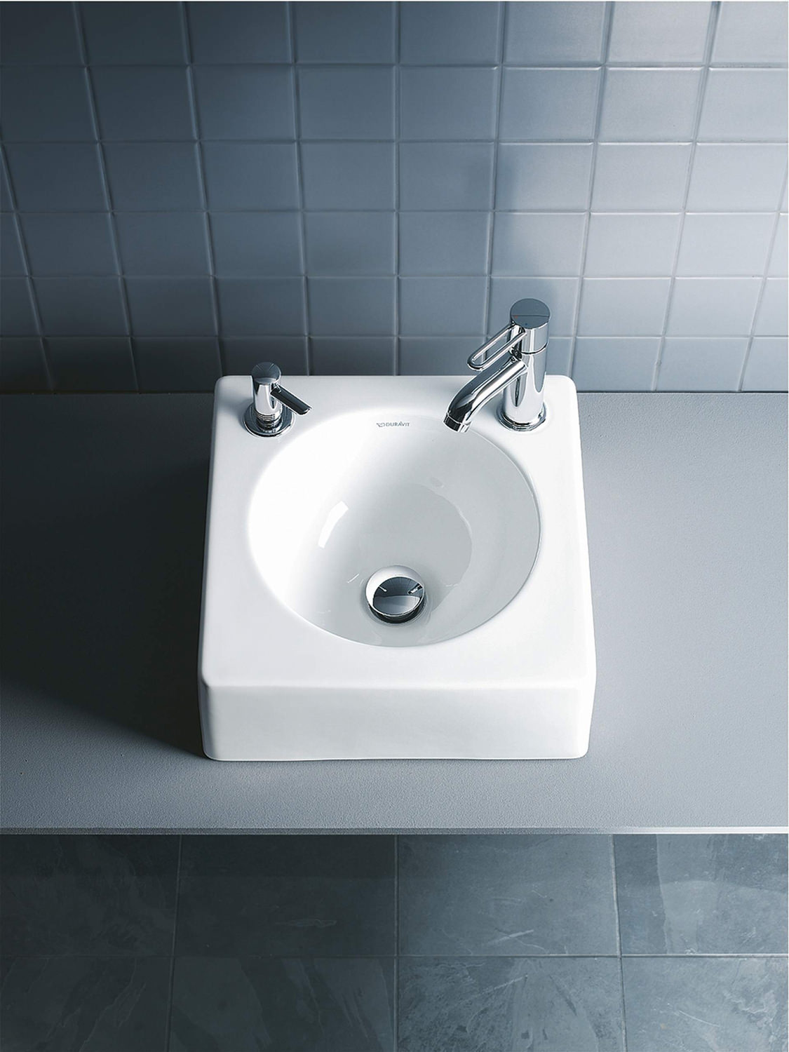 Duravit architec 450mm above counter ground basin without for Duravit architec basin