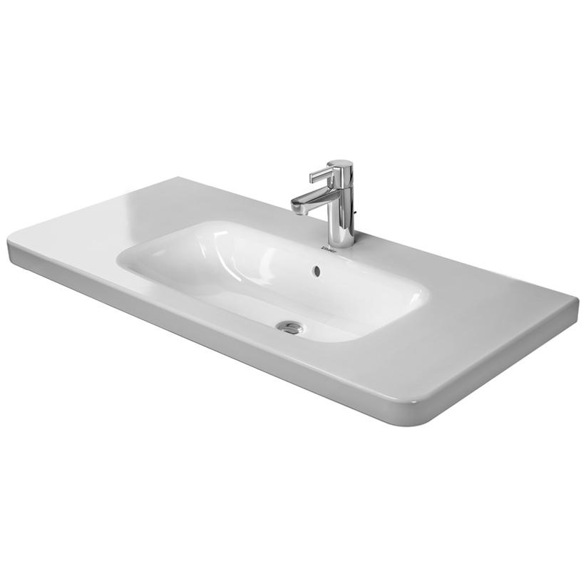 Duravit durastyle 1000 x 480mm furniture washbasin with - Duravit bathroom furniture uk ...