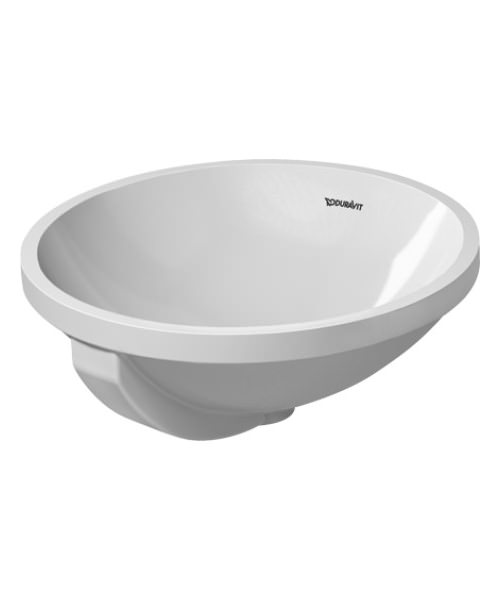 Duravit architec 400mm undercounter basin with overflow for Duravit architec basin