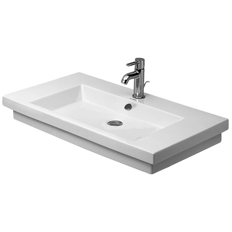 duravit 2nd floor 800 x 500mm ground washbasin. Black Bedroom Furniture Sets. Home Design Ideas