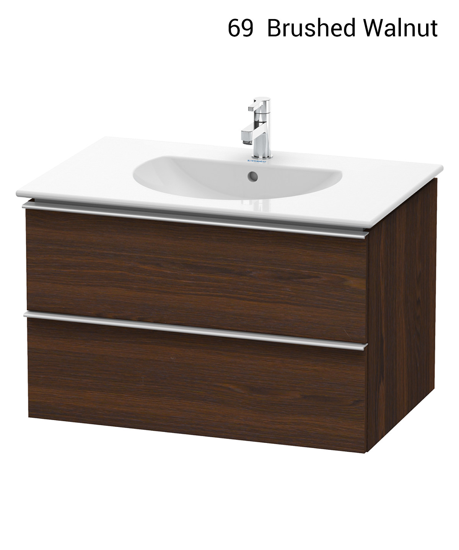 duravit darling new 800 x 545mm basalt matt vanity unit. Black Bedroom Furniture Sets. Home Design Ideas