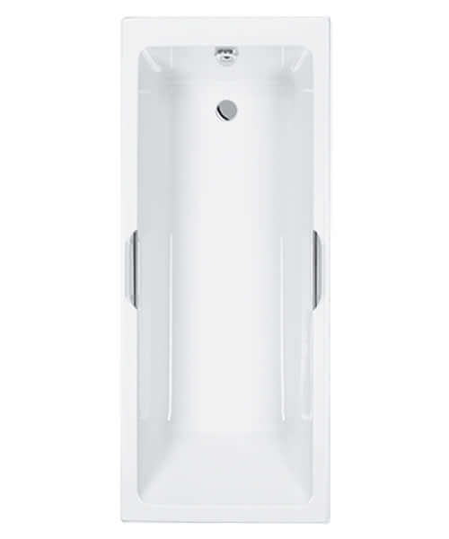 Carron Quantum Integra 1600 X 700mm 5mm Acrylic Bath With