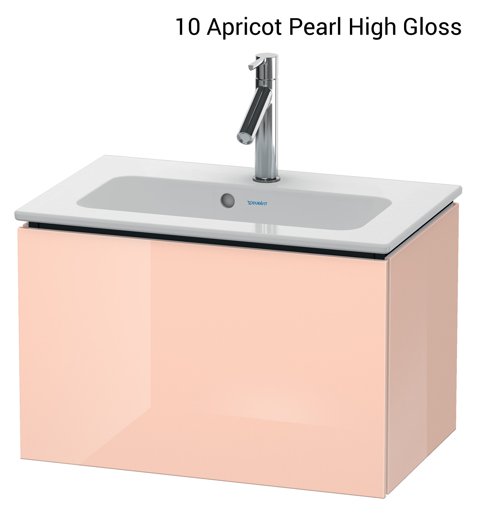 ... Alternate Image Of Duravit L Cube 620mm Compact Vanity Unit With Me By  Starck Basin ...