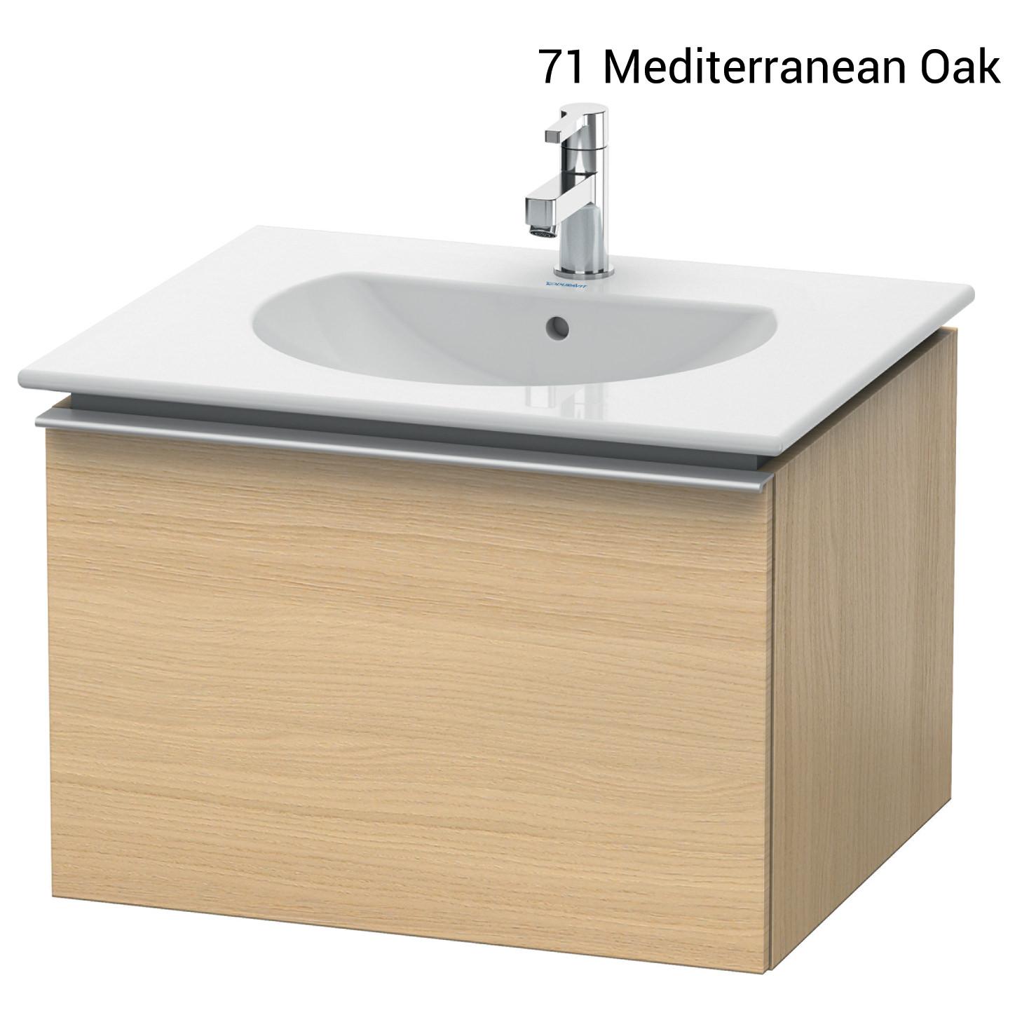 duravit darling new 545 x 600mm white matt vanity unit with basin. Black Bedroom Furniture Sets. Home Design Ideas