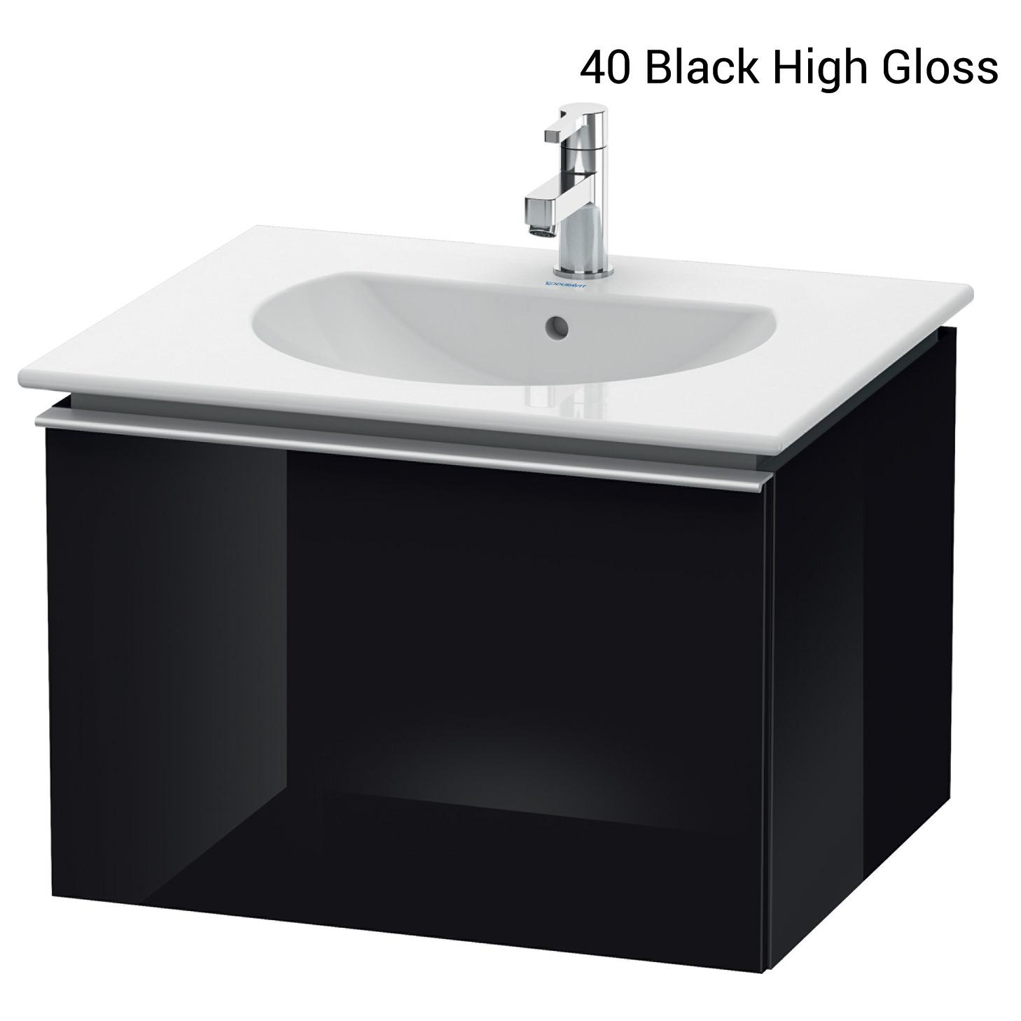 duravit darling new 545 x 600mm white matt vanity unit. Black Bedroom Furniture Sets. Home Design Ideas