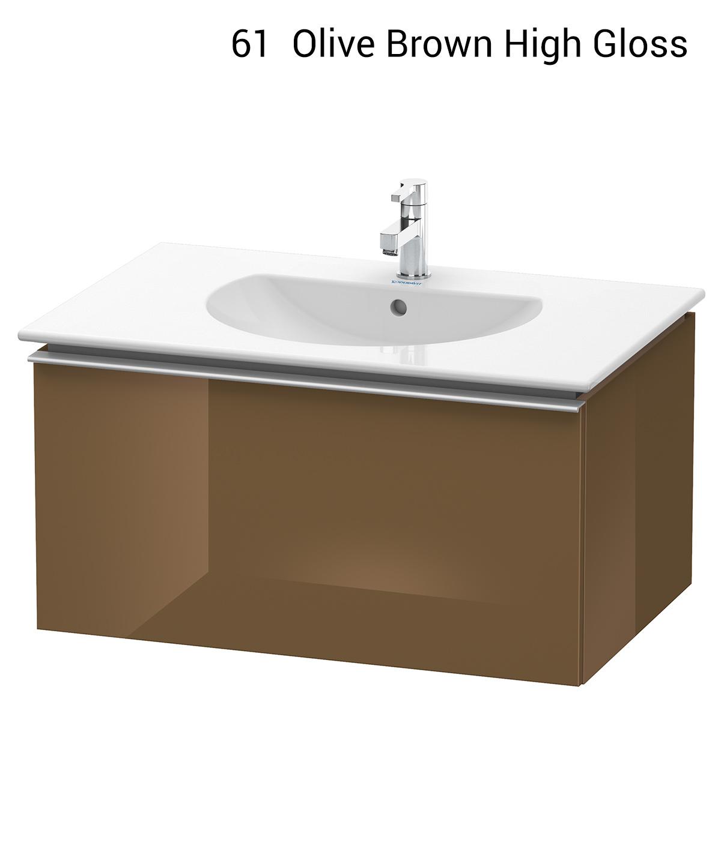 duravit darling new 800 x 545mm pine silver vanity unit with basin. Black Bedroom Furniture Sets. Home Design Ideas