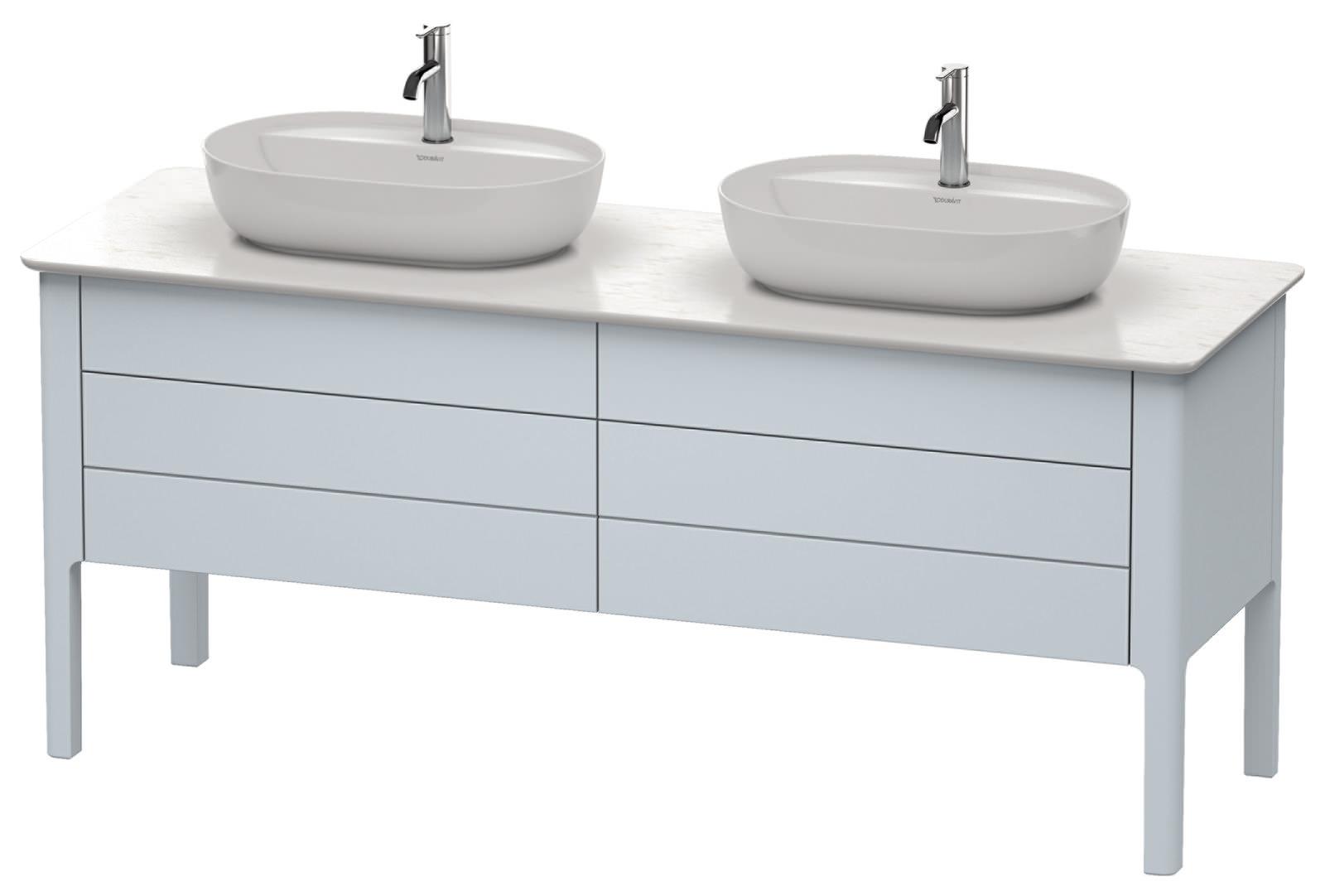 Duravit Luv 1733 x 570mm 2 Drawer Floorstanding Unit