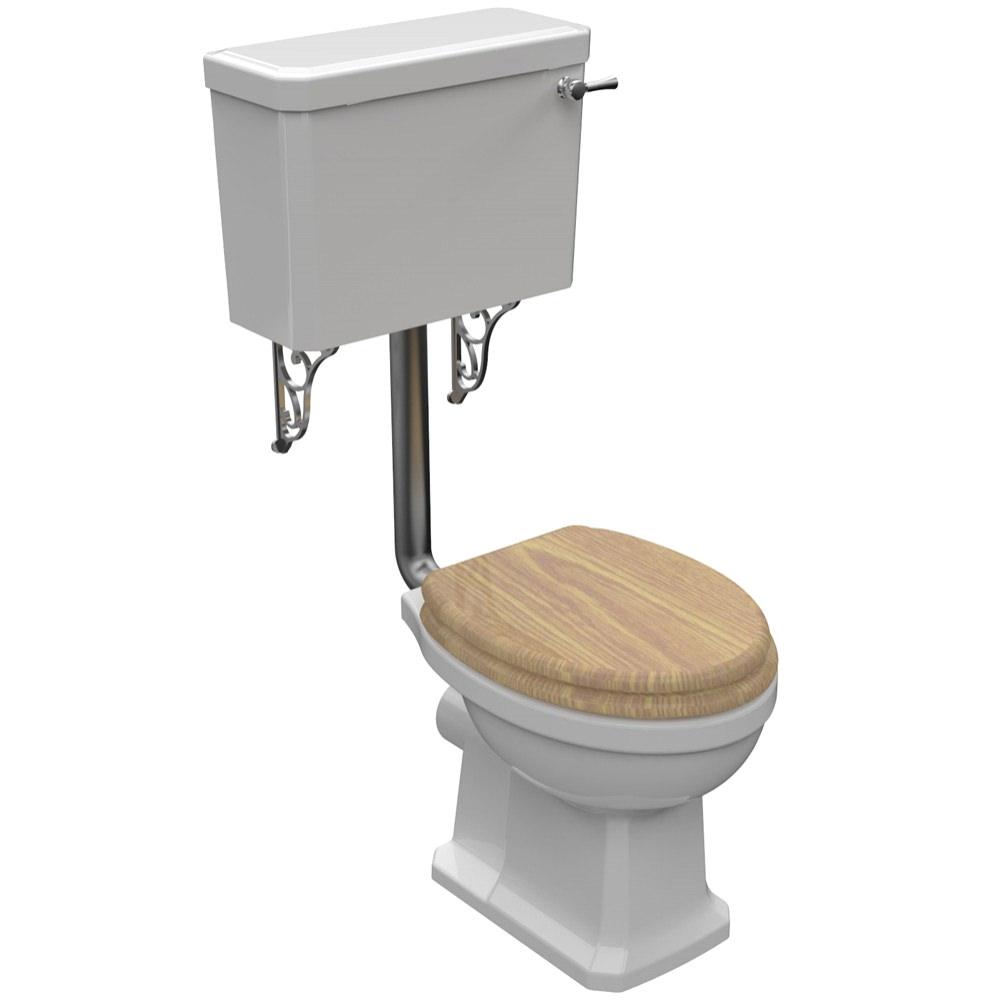 pura imex wyndham traditional low level wc set. Black Bedroom Furniture Sets. Home Design Ideas
