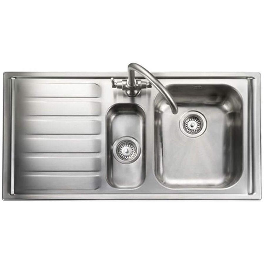 Rangemaster Manhattan 1 5 Bowl Stainless Steel Kitchen Sink Lh