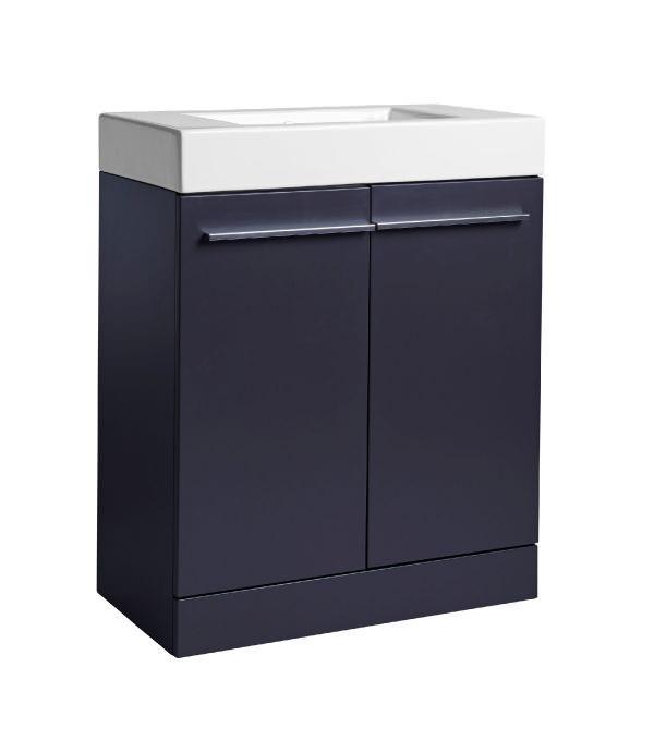 Tavistock kobe 700mm freestanding vanity unit with basin for Bathroom cabinets 700mm