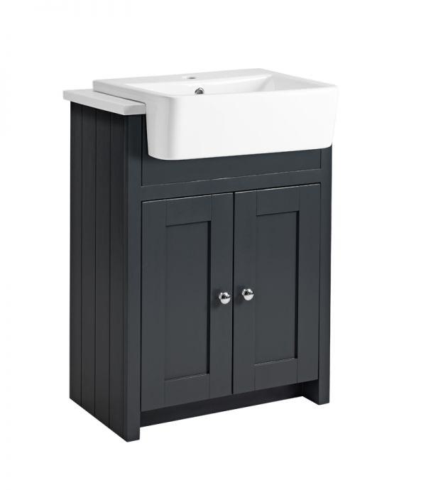 Tavistock Lansdown 2 Door 600mm Semi Countertop Vanity Unit