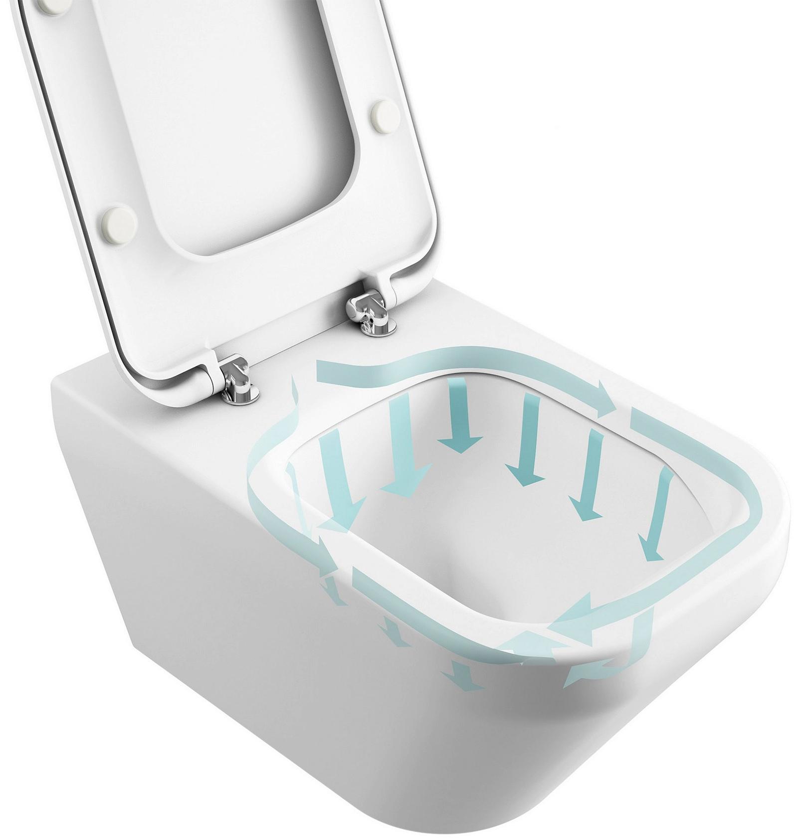 ideal standard concept cube aquablade close coupled btw wc. Black Bedroom Furniture Sets. Home Design Ideas