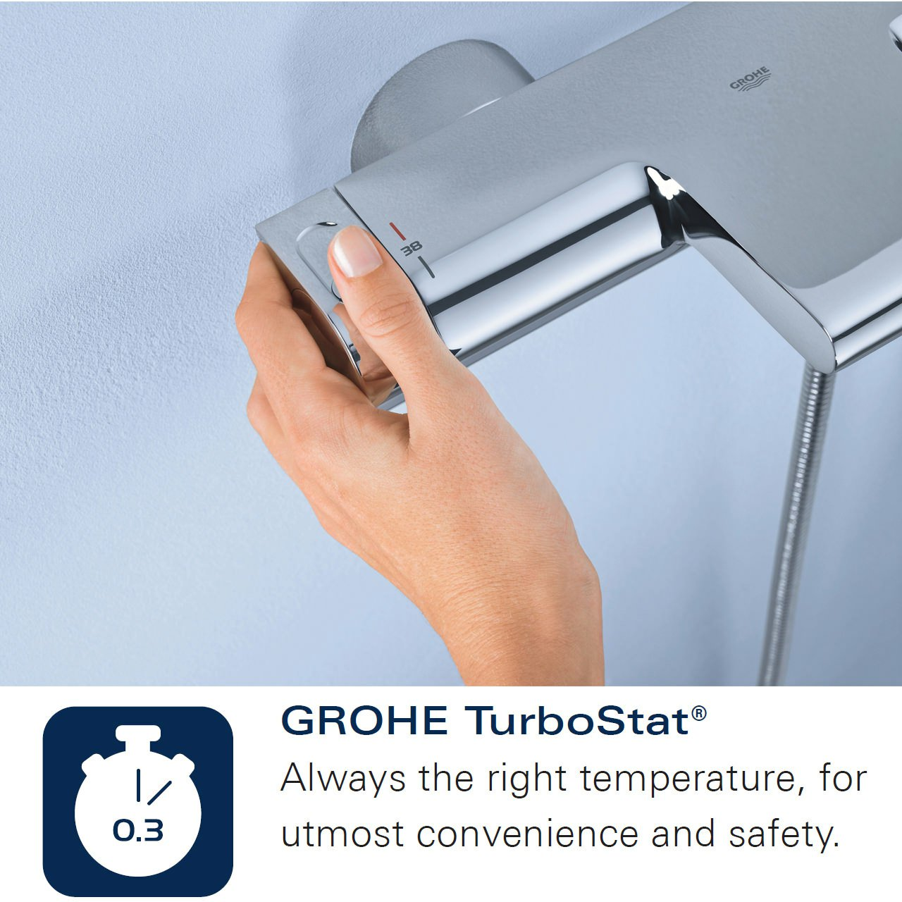 Grohe Grohtherm 2000 Special Thermostatic Bath Shower Mixer Tap