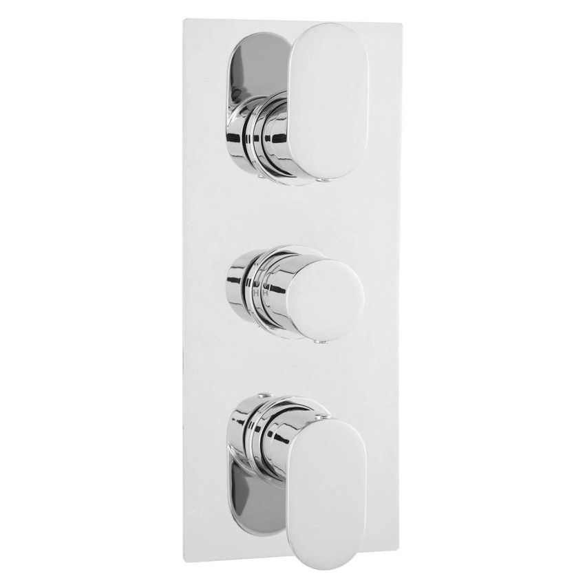 Hudson Reed Reign Triple Thermostatic Shower Valve With Diverter