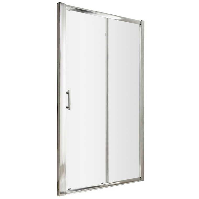 Lauren pacific 1400 x 1850mm single sliding shower door for 1400 shower door