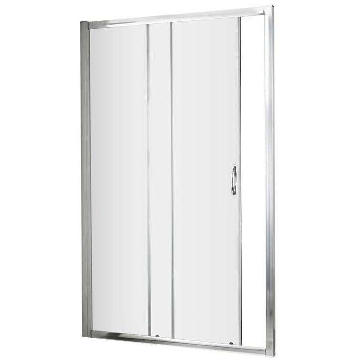 Lauren ella 1000 x 1850mm single sliding shower door for 1000 bifold shower door