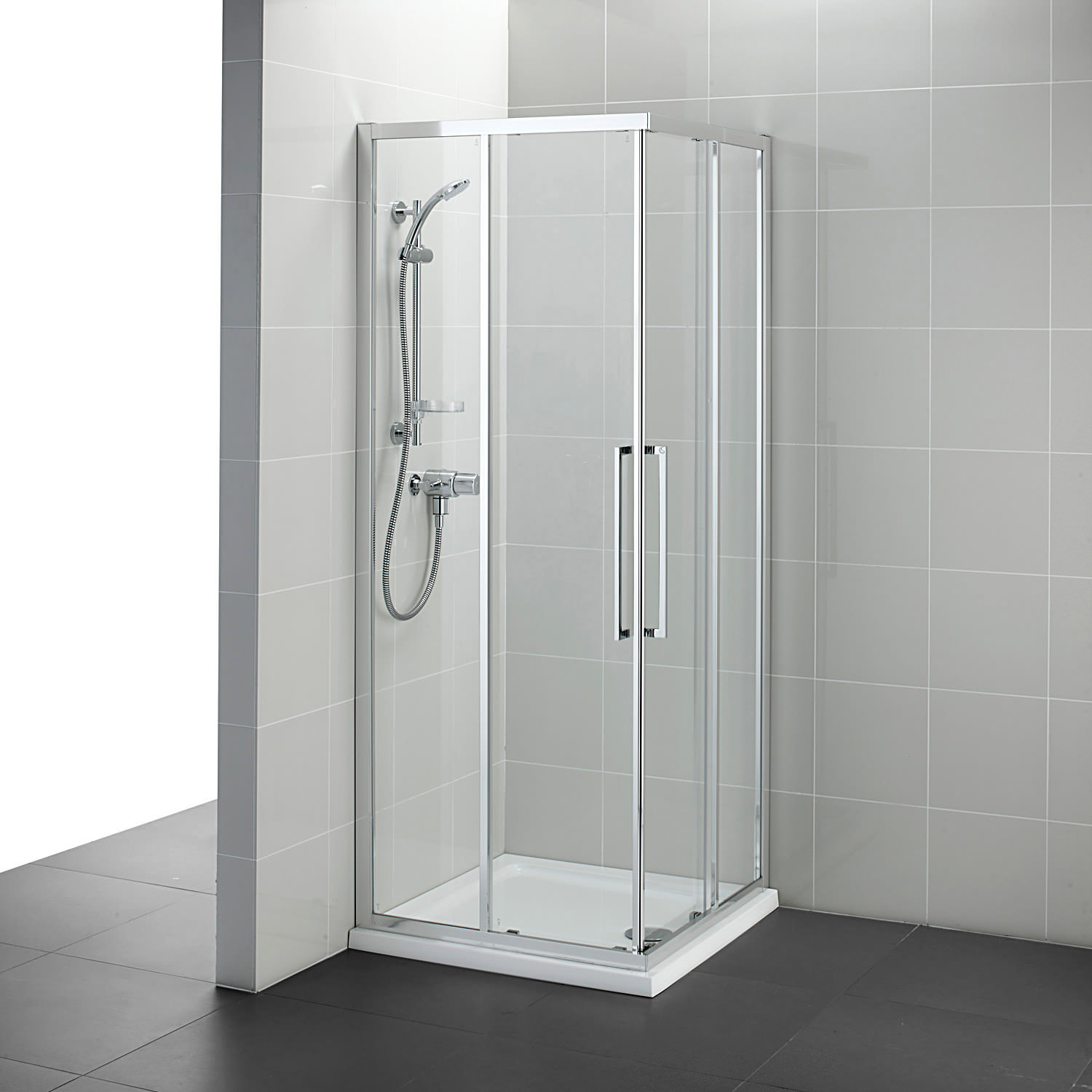 Ideal Standard Kubo 900 x 900mm Corner Entry Shower Enclosure