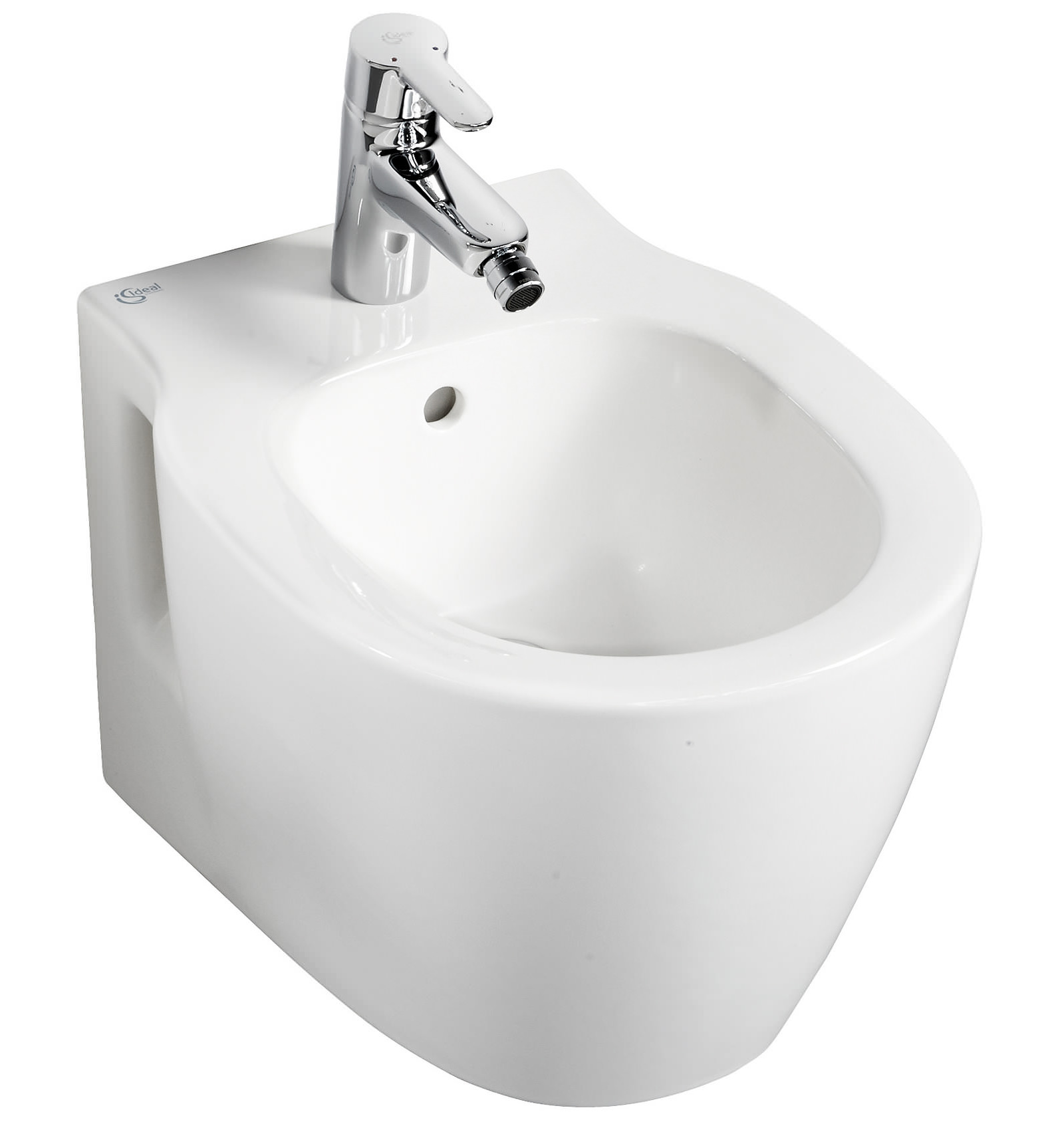 Ideal standard concept space compact wall mounted 1 th bidet - Small toilets for tight spaces concept ...