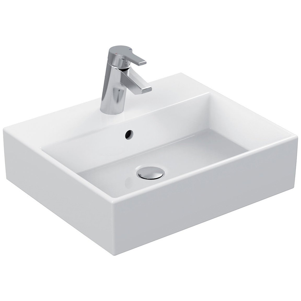Ideal Standard Strada 1 Tap Hole 50cm Countertop Basin