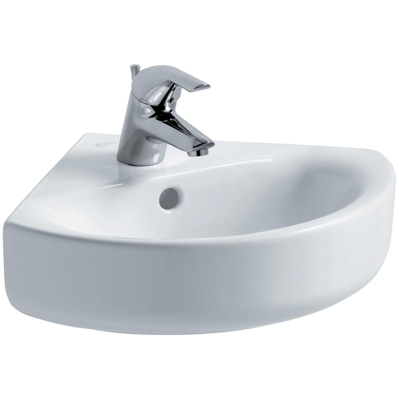 Ideal Standard Concept Arc 45cm Corner Handrinse Basin