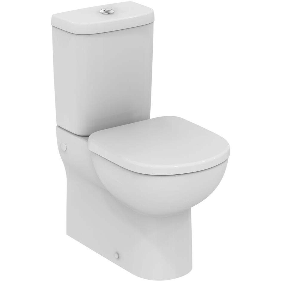 ideal standard tempo close coupled back to wall wc pan 600mm. Black Bedroom Furniture Sets. Home Design Ideas