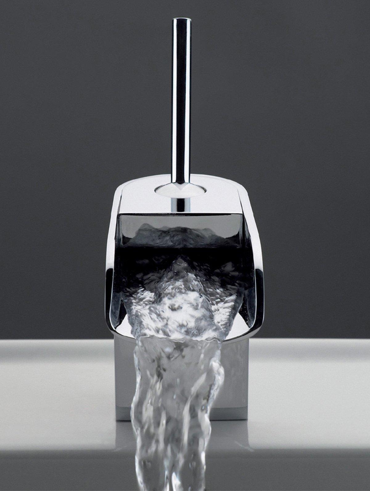 Crosswater love me single lever monobloc basin mixer tap - Grifo lavabo cascada ...