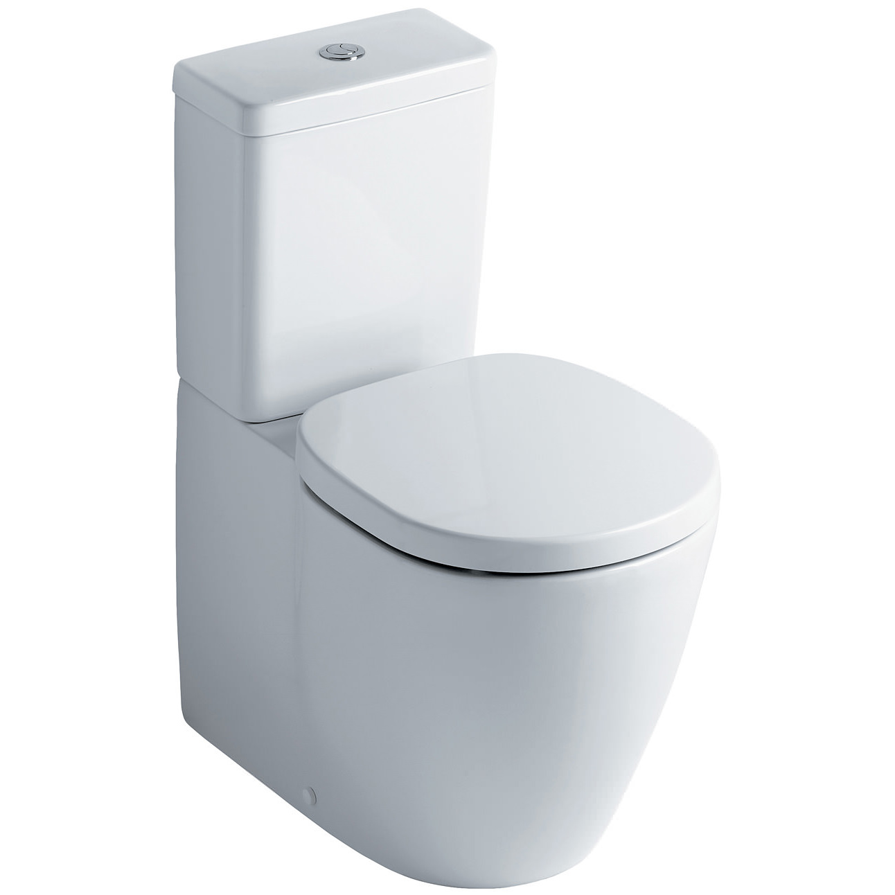 Ideal standard concept cube close coupled back to wall wc pan for Lunette wc ideal standard