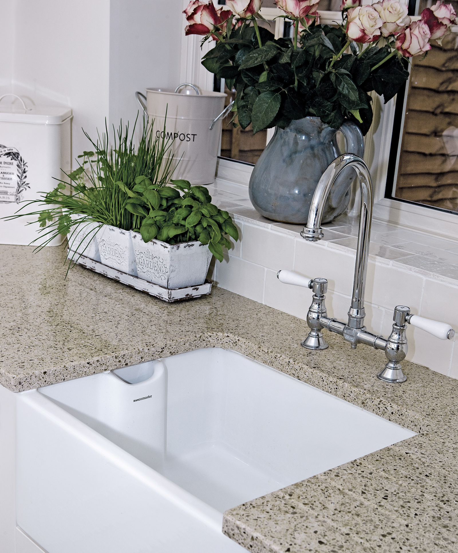 Rangemaster Kitchen Sinks Rangemaster belfast traditional bridge kitchen sink mixer tap workwithnaturefo