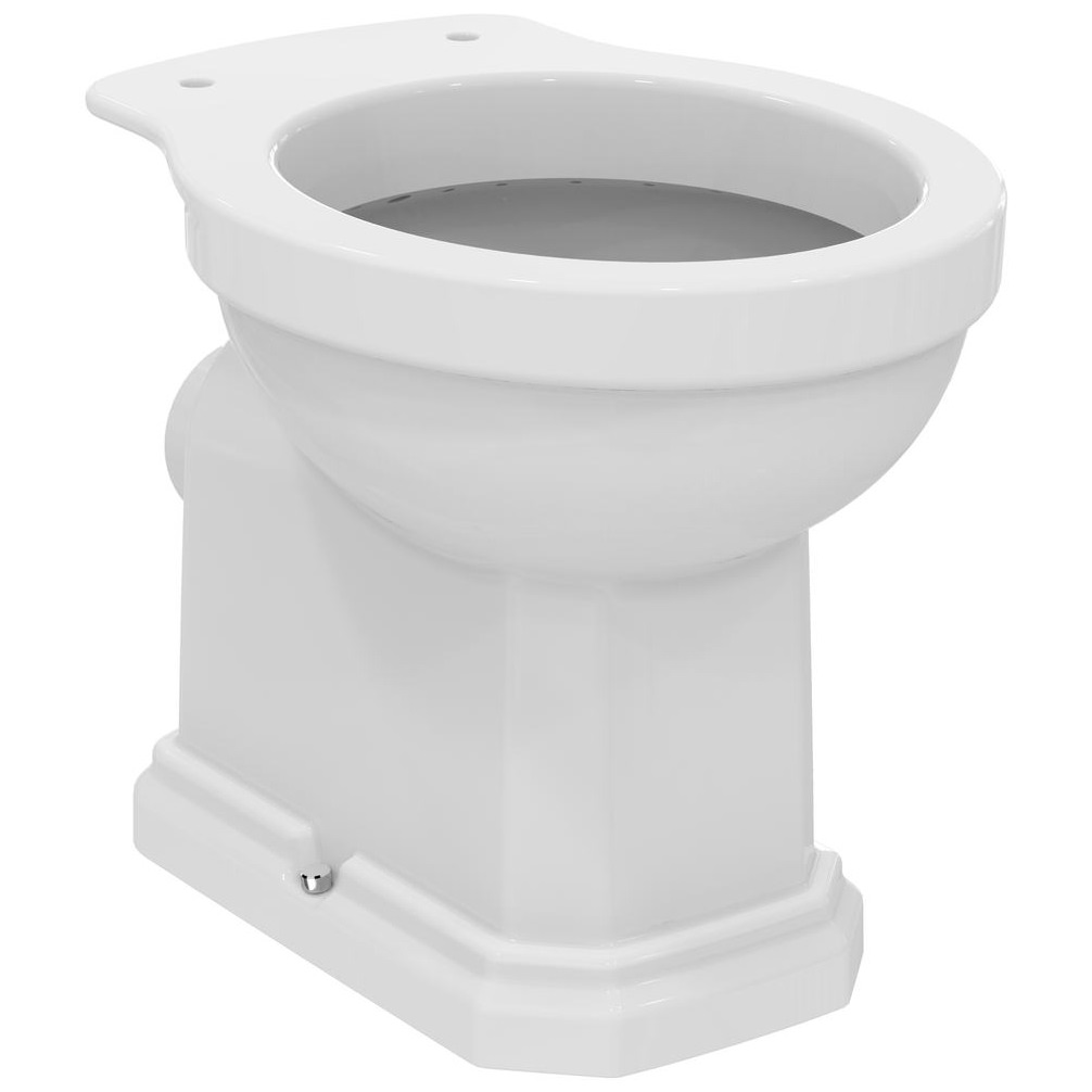 ideal standard waverly high level wc pan 645mm and cistern. Black Bedroom Furniture Sets. Home Design Ideas