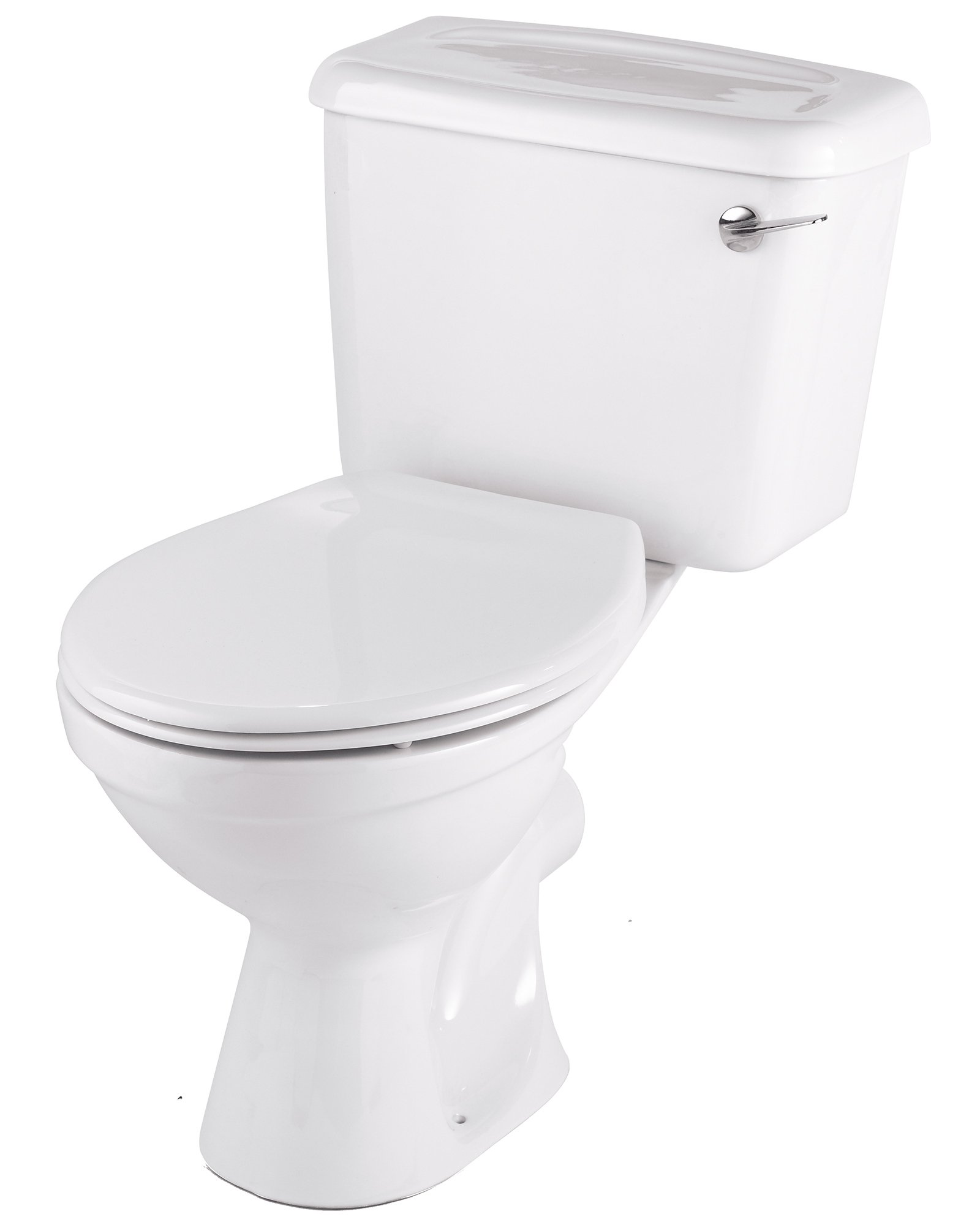 Twyford Option Close Coupled Wc Pan And Lever Cistern 680mm