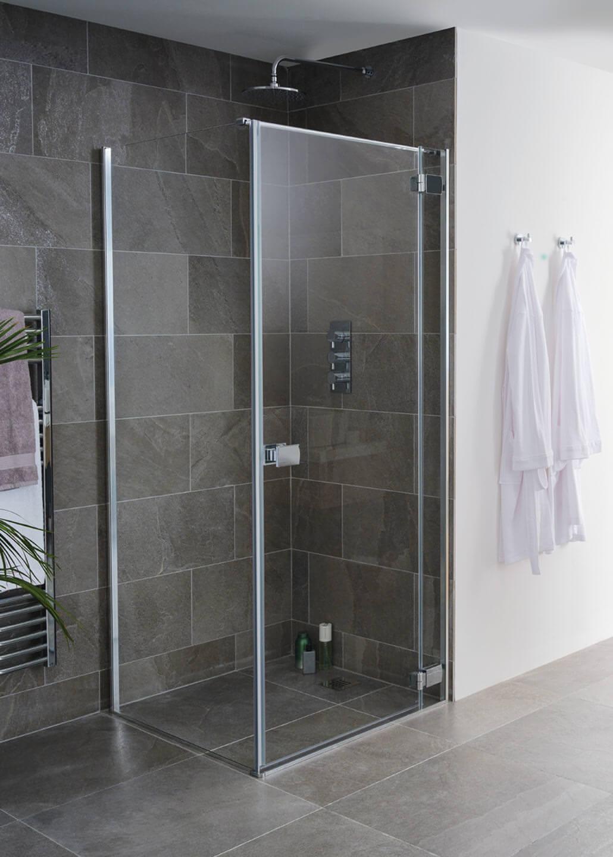 Lakes Island Grenada Frameless Hinge Shower Door 900 X 2000