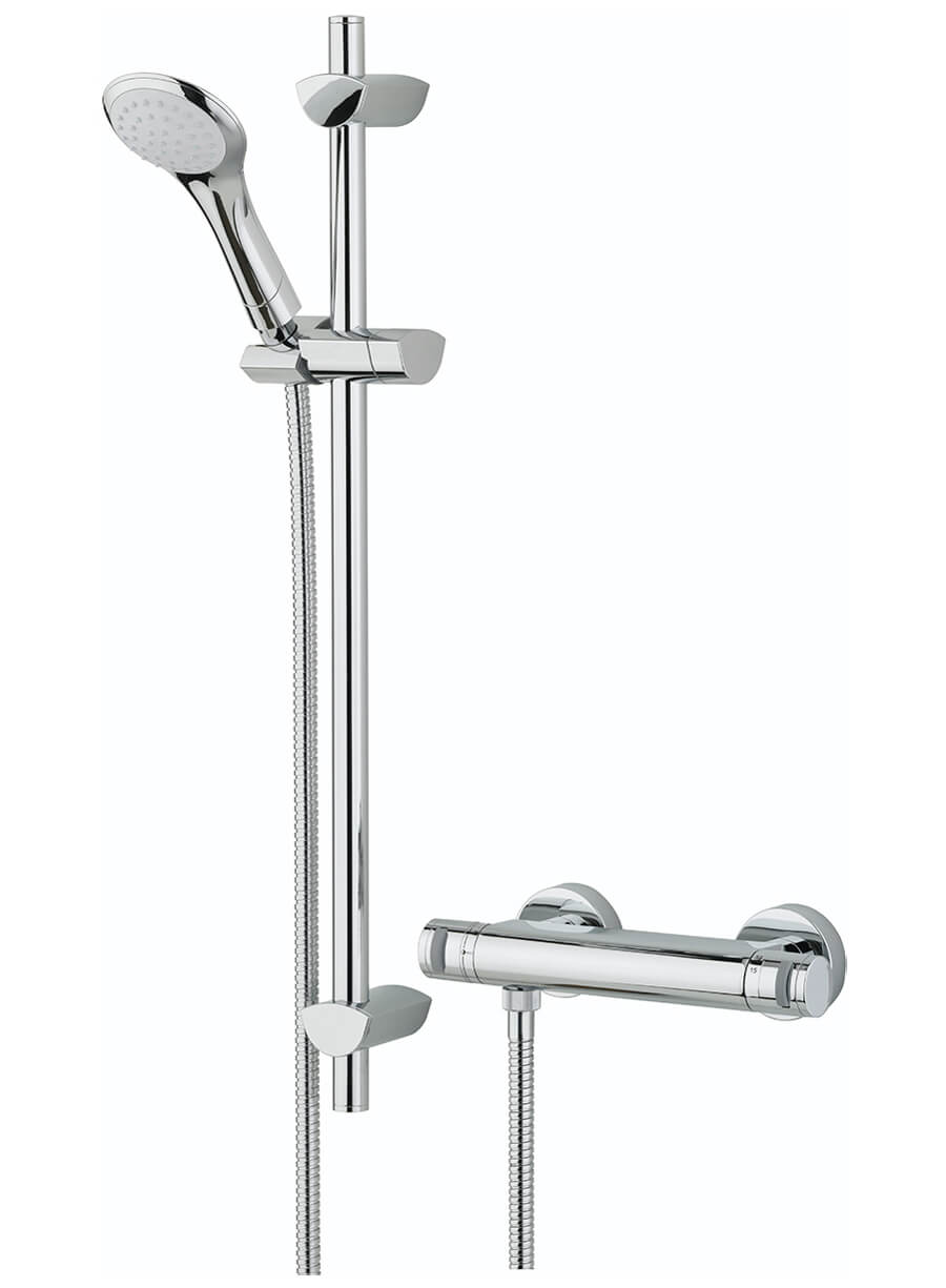 Bristan Artisan Thermostatic Bar Shower Valve With Handset