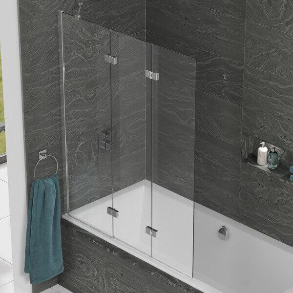 Kudos Inspire 1250 X 1500mm Three Panel In Fold Bath