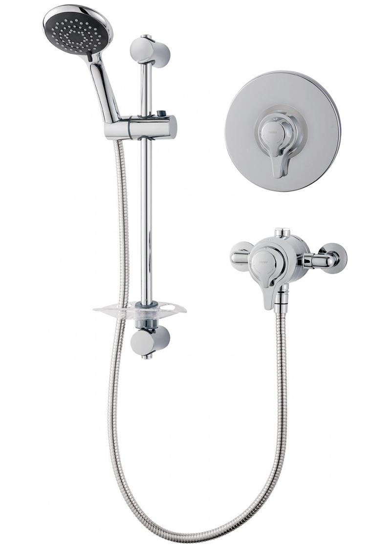 Triton Eden Concentric Mixer Shower Valve With Shower Kit