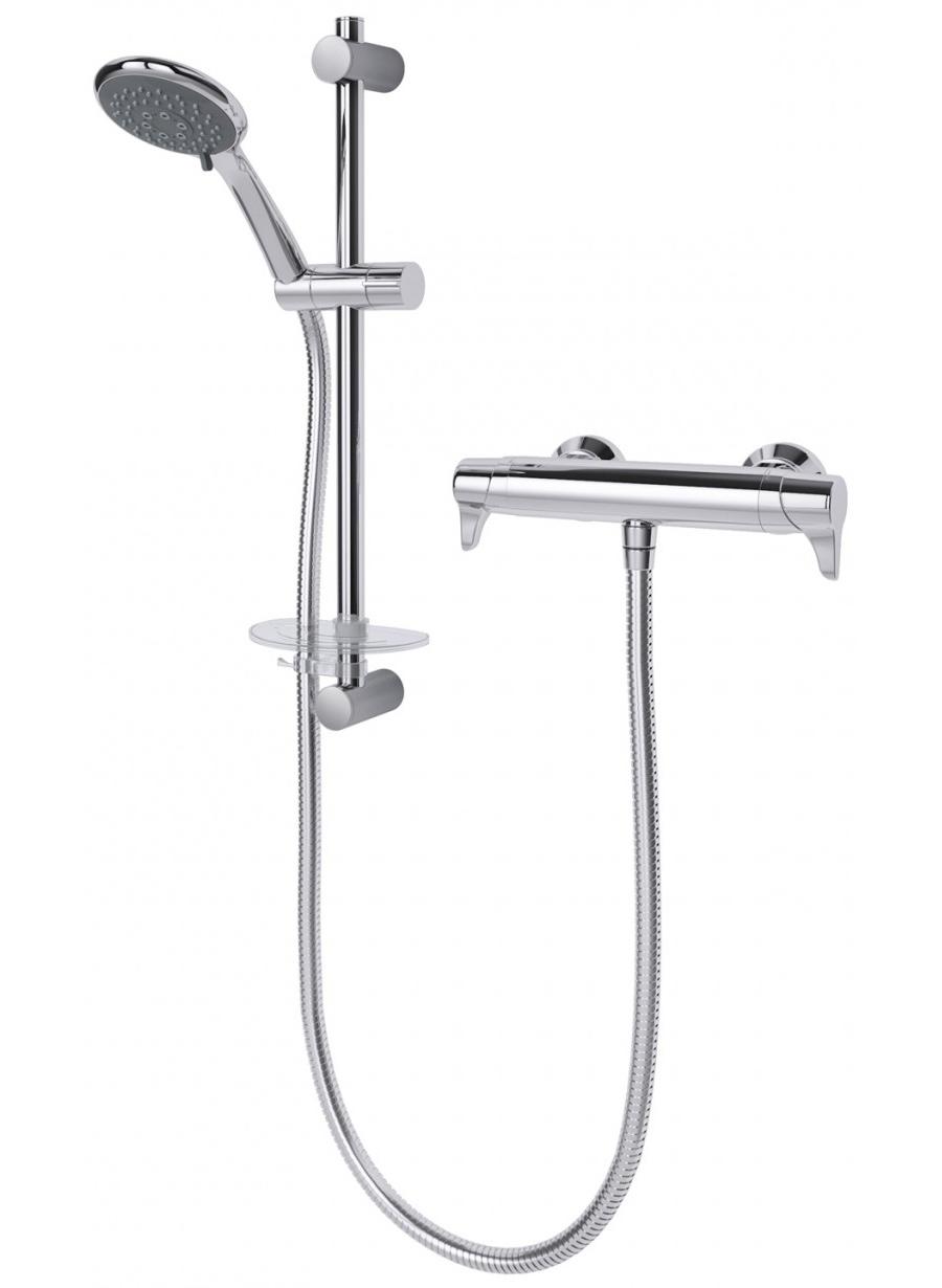 Triton Eden Bar Mixer Shower And Kit