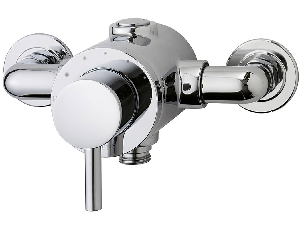 triton elina single lever tmv3 thermostatic exposed shower. Black Bedroom Furniture Sets. Home Design Ideas