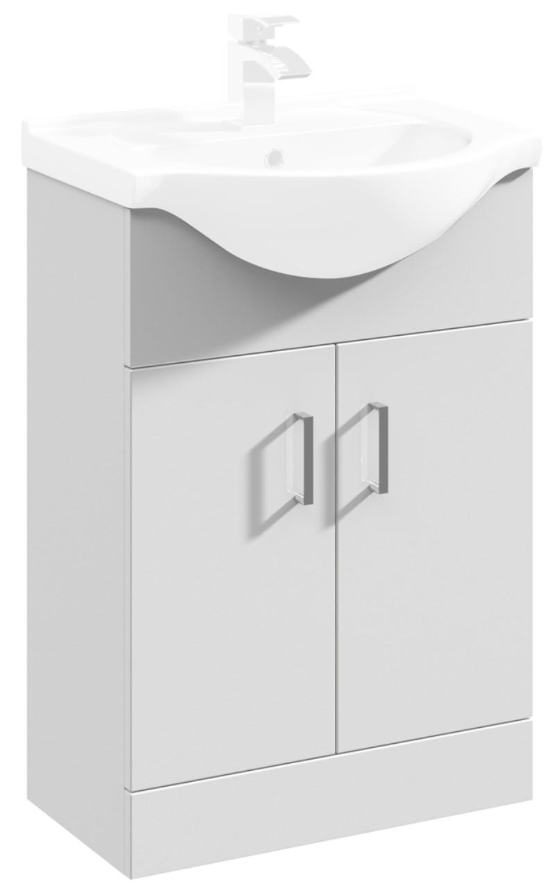 Lauren Mayford 550mm Floor Standing Cabinet With Basin 1