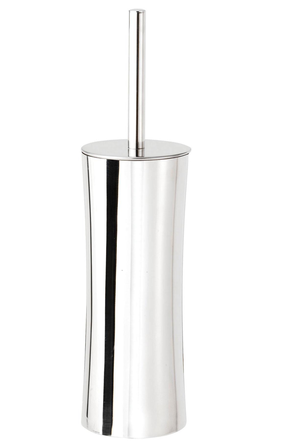 Croydex Freestanding Modular Stainless Steel Toilet Brush And Holder