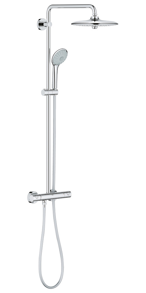 Grohe Euphoria 260 Shower System With Exposed Thermostatic Valve