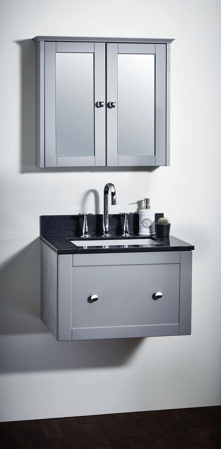 sale retailer 61f4f 1e4a9 Frontline Holborn 600mm Wall-Hung Vanity Unit