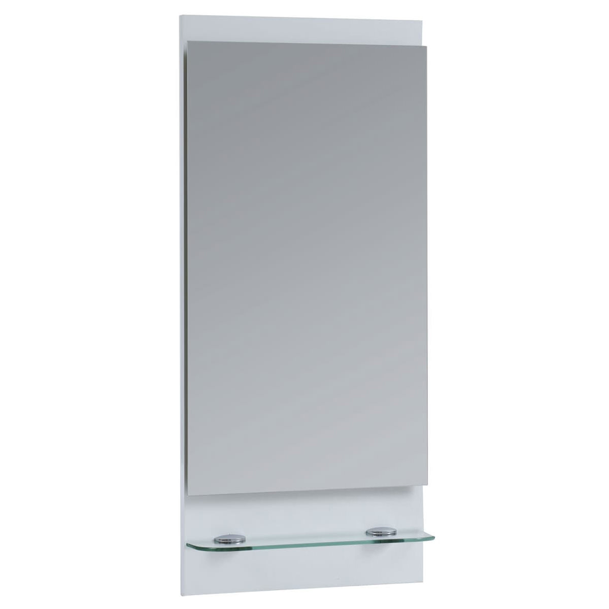 Frontline Aquatrend 400mm Bathroom Mirror And Shelf