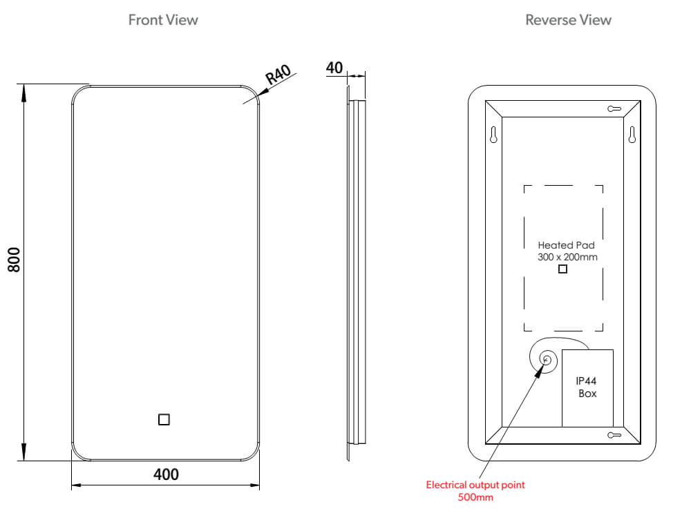 wiring diagram for power heated mirrorsmirror3jpg schema wiring  electrical wiring diagram heating pad #15