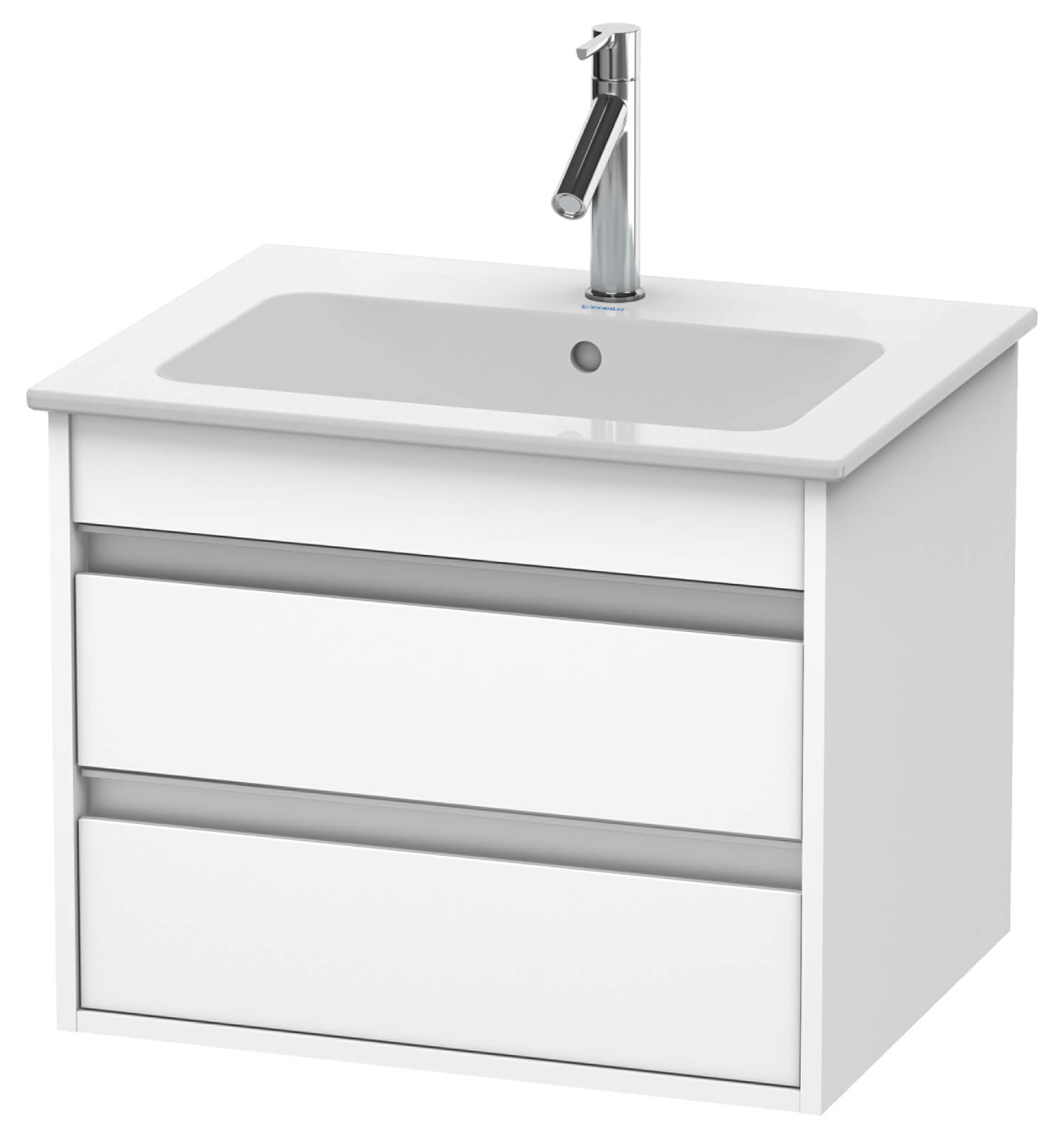 duravit ketho 2 drawer wall mounted vanity unit with me by. Black Bedroom Furniture Sets. Home Design Ideas