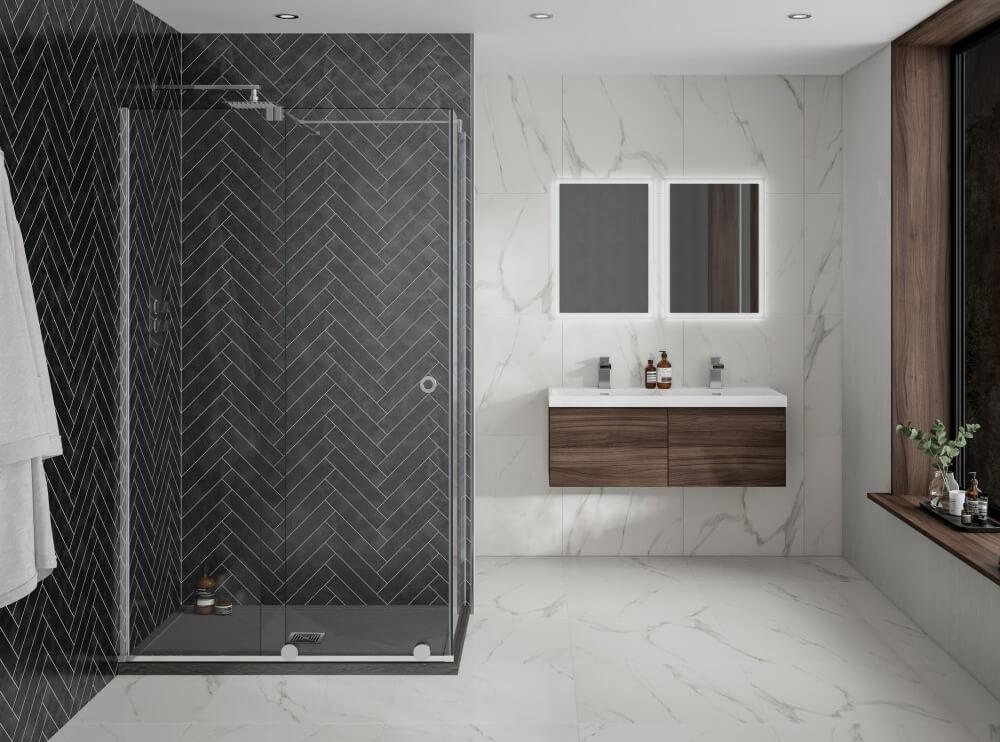 Aquadart Rolla 8 Sliding Shower Door