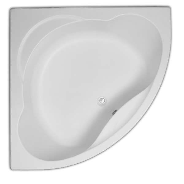 Trojan Laguna 1200 X 1200mm Acrylic Corner Bath With Panel
